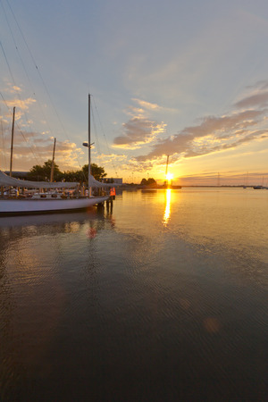 waterscapes: Annapolis waterfront sunrise