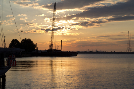 waterscapes: Sunrise on the waterfront