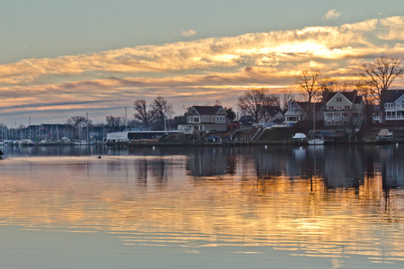 waterscapes: Fiery Annapolis Sunrise