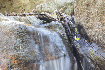 waterscapes: Water over the rocks