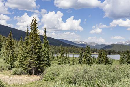Lake in the Rockies