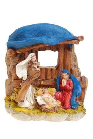 Nativity scene from Bethlehem.