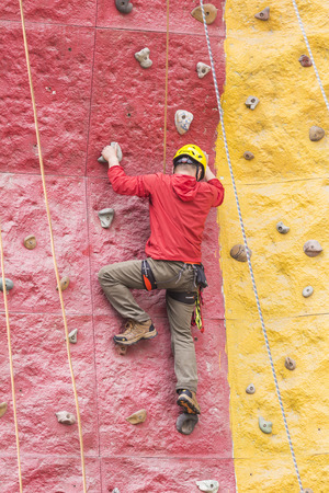 hard stuff: Rock climbing Editorial