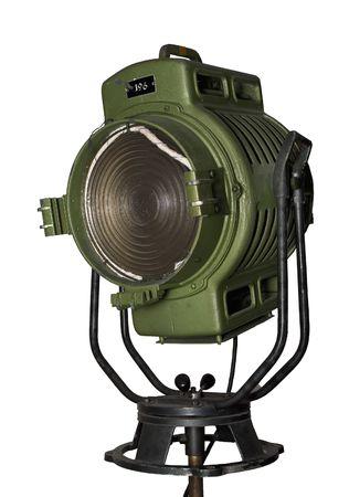 spot lit: Vintage Spotlight, fesnel lens