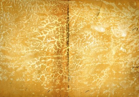 crinkles: large background with old paper, blotched and wrinkled  - grunge -
