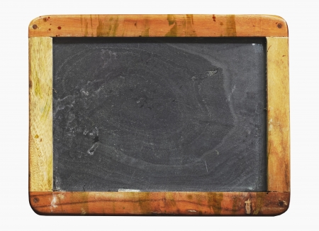 vintage school blackboard, with paint splatters , worn and grungy, free copy space photo