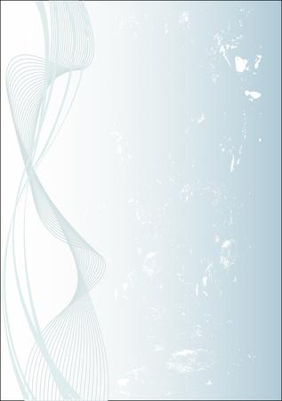smooth curve design: Fondo de remolino abstracta, grungy