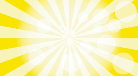 Abstrakt Sonnenstrahlen Hintergrund, Vektor Standard-Bild - 9493814