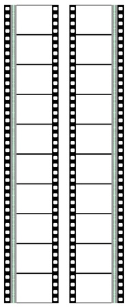 projection: movie filmstrip