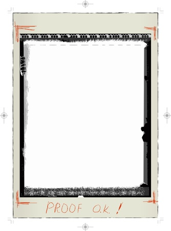 advertiser: Instant picture, blank frame, caption approved