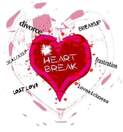 heartbreak grungy