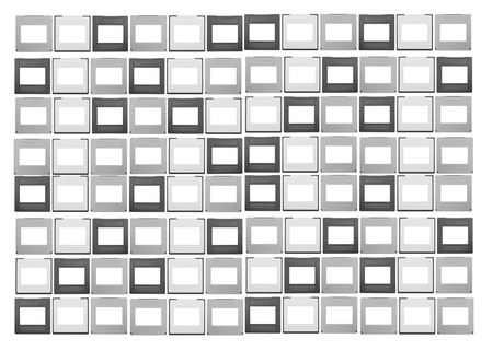 35mm: large set of 35mm slides, isolated on white background,free space for your pics