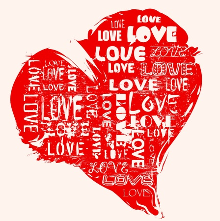 romantic: love concept