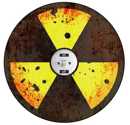 poison arrow: radiation sign wth switch