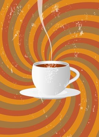 restaurant en cafe 'promotie ontwerp, gratis exemplaar ruimte Vector Illustratie