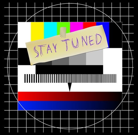 offline: Test pattern, website error sign