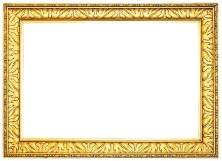 pix: vintage, golden picture fame, free copy pix space