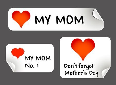 """dzień matki: Matki naklejki dzieÅ"""""""
