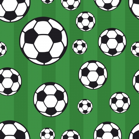 seamless football pattern, background Stock Vector - 13966921