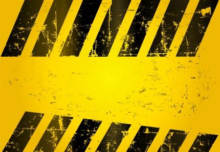 Gefahr Streifen, abstrakten Hintergrund Standard-Bild - 14439908
