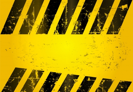 dangerous construction: hazard stripes, abstract background