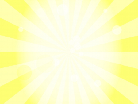 sun background with lens flare Ilustracja
