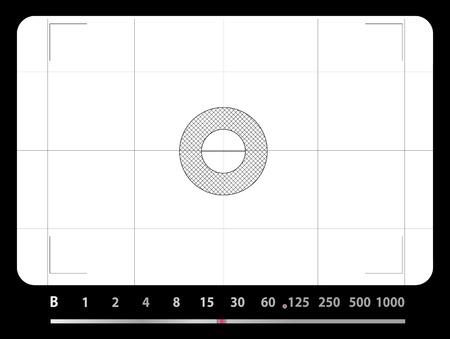 Classique SLR viseur, avec un espace libre pour vos photos