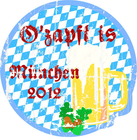 Oktoberfeat Munich, Ozapft is Vector