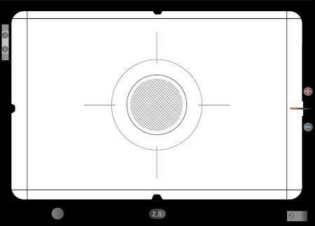 viewfinder: Classic mirino reflex, con spazio libero per le tue foto