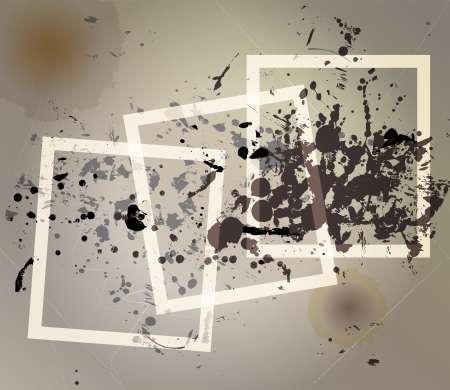 Grungy textures and frames Stock Vector - 16137542