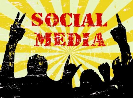 bookmarking: Social Media and Network Illustration