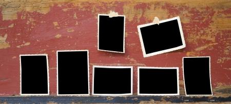 pix: vintage photo frames, free space for your pix