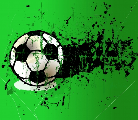 gainer: grungy football on the penalty spot