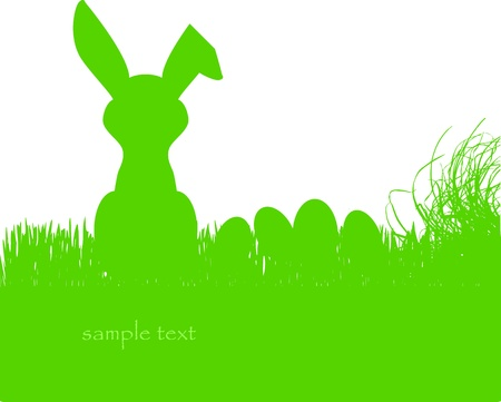 cosy easter bunny Stock Vector - 17965134