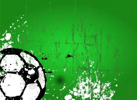 Fußball-Fußball-Design-Vorlage, kostenlose Kopie Raum, Vektor- Standard-Bild - 18128432