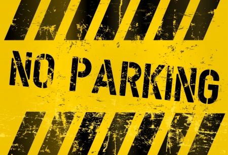no parking: no parking, prohibition sign