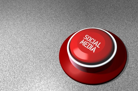 bookmarking: social media concept, switch, free copy space Stock Photo