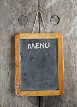 specials: vintage chalkboard menu, free space for your copy