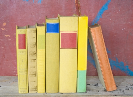 books arrangement,free copy space photo