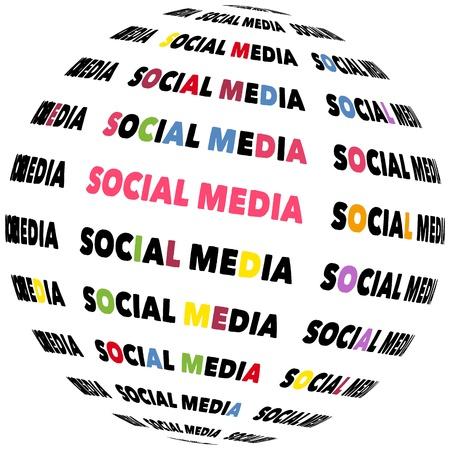 social media icon,vector Stock Vector - 19050852