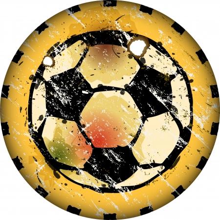 deign: soccer ball sign