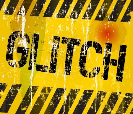 glitch: segno problema tecnico