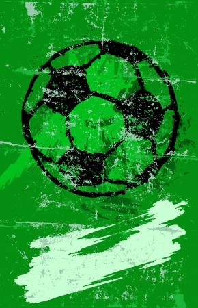 soccer   football Illustration, free copy space Vector