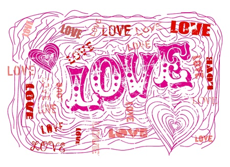 love illustration Stock Vector - 21915533