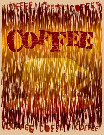 stylish retro coffee design, vector illustration Vector