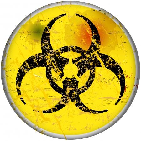 virus informatico: signo de advertencia de virus de ordenador, vector, EPS 10