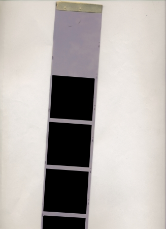 film strip, medium format, empty picture frames photo