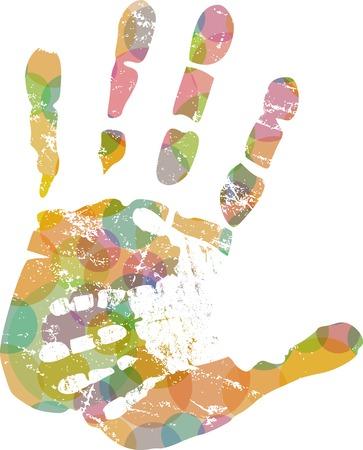 assisting: helping hand, illustration