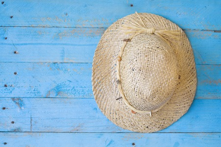straw hat, vacation, holiday, summer concept