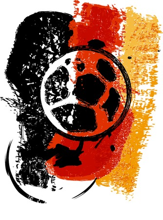 corner kick: Soccer   Football design, germany